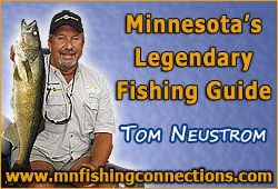 Minnesota Fishing Guides - Tom Neustrom, Grand Rapids MN