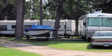 RV Camping Sites with Full Hook-ups