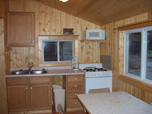 Red Pine Cabin and White Pine Cabin